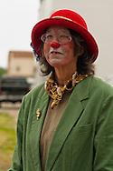 Clown, Miles City Bucking Horse Sale Parade, Montana