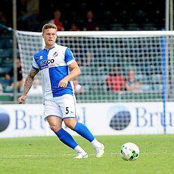 James Clarke of Bristol Rovers - Photo mandatory by-line: Neil Brookman/JMP - Mobile: 07966 386802 - 18/07/2015 - SPORT - Football - Bristol - Memorial Stadium - Pre-Season Friendly