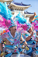 Drummers at the Dream Parade, Taiwan's version of a mardi gras.