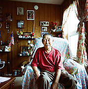 Peter John of Newtok, Alaska. 2008