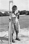 Bronx, New York: Cricket under the Whiteston Bridge