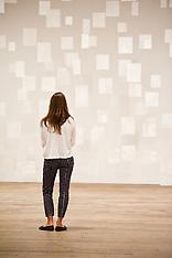 SEP 24 2013 Mira Schendel at Tate Modern in London