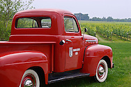 Bedell Cellars Winery, Red Truck, 36225 Main Road,  Cutchogue, NY