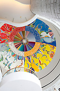 Morning Star - Gambeh Then' , Artwork in the dome, Museum of Civilization, Gatineau, Quebec, Canada