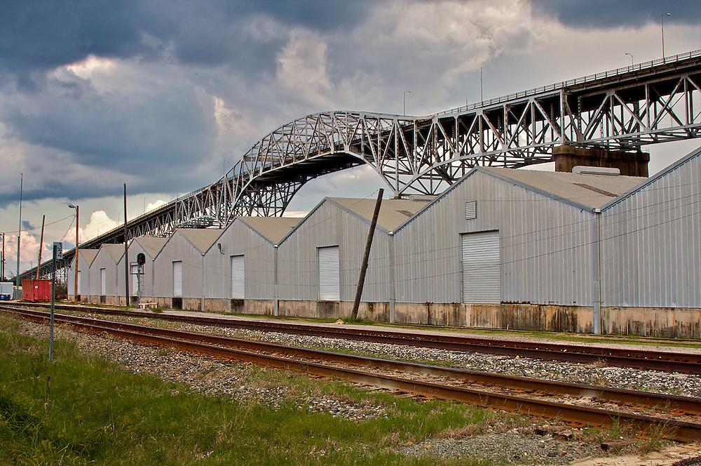 I-10 Bridge at Lake Charles,Louisiana