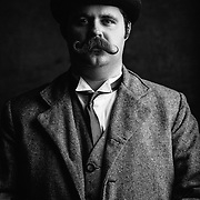 02 December 2012 - The annual Mustache Competition at Jake's in Benson.