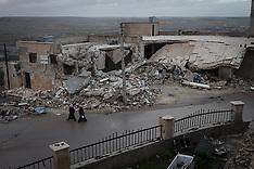 FEB 11 2013 Syria  - City centre of Kafranbel