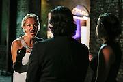 11/04/2016: SAVANNAH, GA: The cast of Southern Charm: Savannah on set in Savannah, Georgia, Nov, 4, 2016. (Getty Images/Stephen B. Morton)