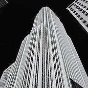 &quot;Wells Fargo Center&quot; mono<br /> <br /> A high contrast black and white image of the Wells Fargo Center in Minneapolis MN.<br /> <br /> Cities and Skyscrapers by Rachel Cohen