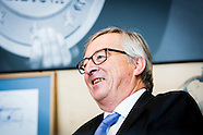 Jean Claude Juncker in his office