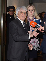 Bernie Ecclestone attends Zoom F1 Charity Auction and Reception at The InterContinental Hotel, Park Lane, London on Friday 16 January 2015