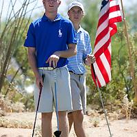American Junior Golf Association player Grayson Murray and Jordan Spieth at the Thunderbird International Junior tournament.