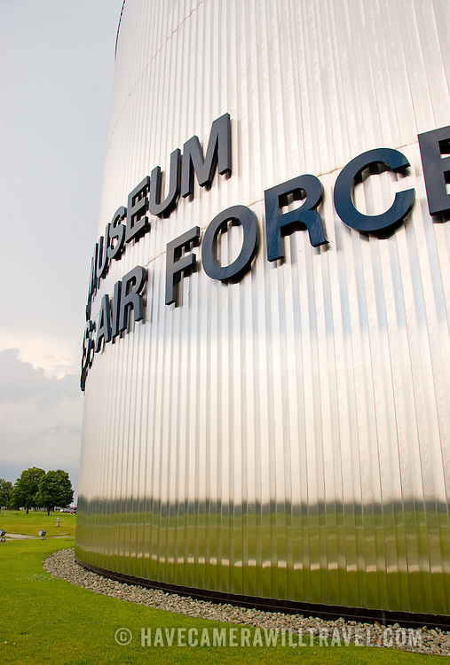 Front entrance of the National Museum of the United States Air Force at Wright-Patterson Air Force Base near Dayton, Ohio