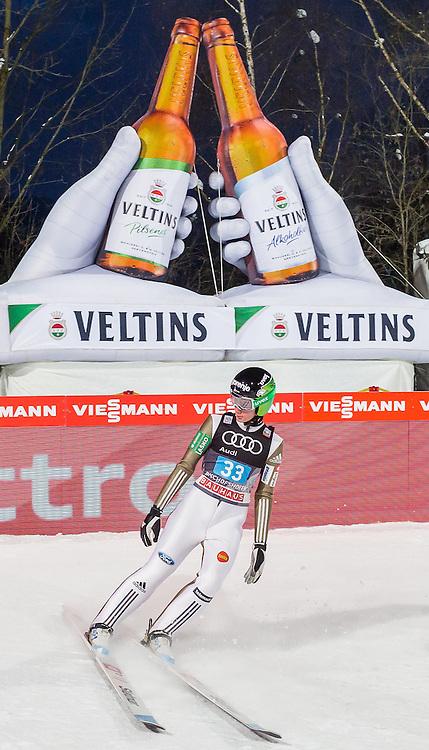 06.01.2017, Paul Ausserleitner Schanze, Bischofshofen, AUT, FIS Weltcup Ski Sprung, Vierschanzentournee, Bischofshofen, Wertungsdurchgang, im Bild Cene Prevc (SLO) // Cene Prevc of Slovenia during his Competition Jump for the Four Hills Tournament of FIS Ski Jumping World Cup at the Paul Ausserleitner Schanze in Bischofshofen, Austria on 2017/01/06. EXPA Pictures © 2017, PhotoCredit: EXPA/ Dominik Angerer