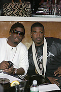 "P.Diddy and Ray J at "" The P. Diddy presents Bad Boy Entertainment Night "" at Spotlight NYC featuring performances by Cherri Dennis and Vanity Kane on January 29, 2008"