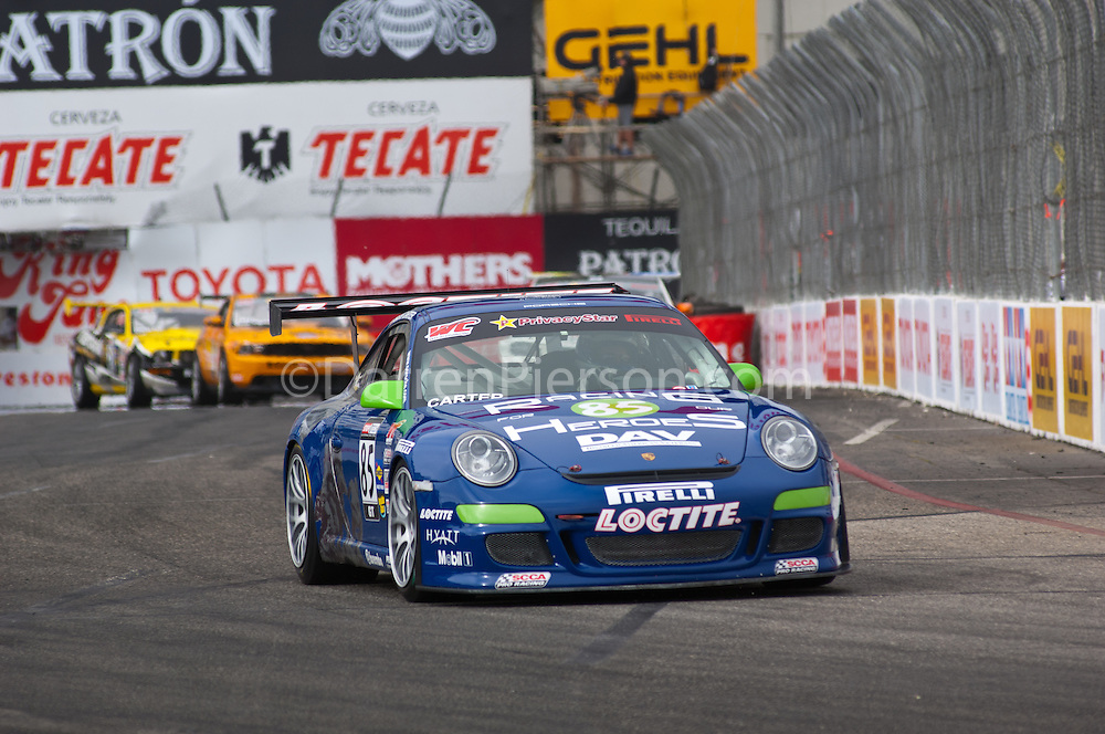 #85 Racing for Our Heroes 2009 Porsche GT3 Cup: Jason Carter