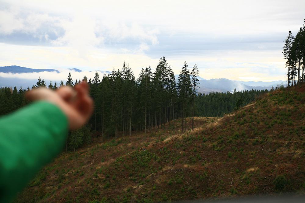 new mountain bike trail at post canyon 2008