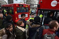 FEB 05 2014 London Tube Strike