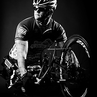 TAMPA, FL -- Justin Gaertner (Marines) of Tampa, Fla., poses for a portrait during the National Veterans Wheelchair Games presented by the U.S. Department of Veterans Affairs and Paralyzed Veterans of America in Tampa, Fla., this week.  (PHOTO / Chip Litherland for ESPN.com)