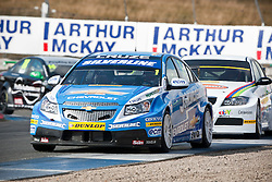Car 1 - Jason Plato, BTCC..British Touring Car Championship at Knockhill, Sunday 4th September 2011. .© pic Michael Schofield.