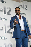June 30, 2012-Los Angeles, CA : Recording Artist Hosea Chanchez attends the 2012 BET Awards- Media Room held at the Shrine Auditorium on July 1, 2012 in Los Angeles. The BET Awards were established in 2001 by the Black Entertainment Television network to celebrate African Americans and other minorities in music, acting, sports, and other fields of entertainment over the past year. The awards are presented annually, and they are broadcast live on BET. (Photo by Terrence Jennings)