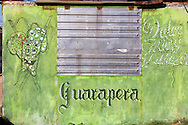 Guarapera stand in Guanajay, Artemisa, Cuba.