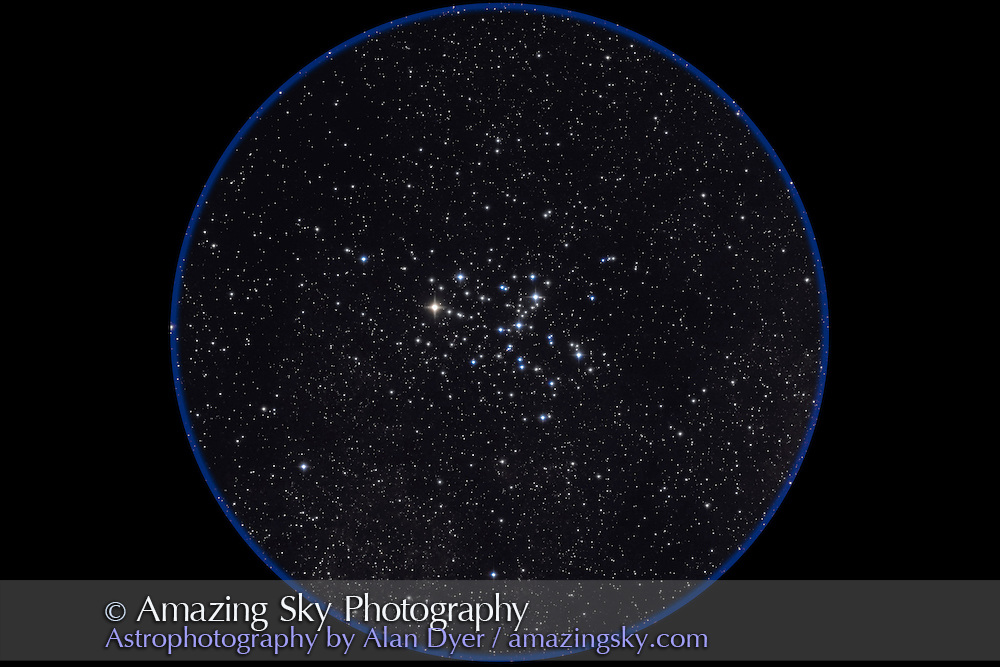 M6 Butterfly Cluster, with 4-inch Astro-Physics Traveler apo refractor at f/6 and Canon 20Da at ISO800 for stack of two 2-minute exposures. Taken from Queensland, Australia, July 30, 2006.