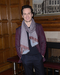 Andrew Scott attends LCM a/w 2015 Hackett London - Dinner and Presentation as British fashion brand previews its latest collection as part of British Fashion Council's menswear showcase at 2 Temple Place, London on Friday 9 January 2015