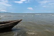 Golfo de San Miguel, Provincia de Darien,  Océano Pacífico de Panamá.   El golfo de San Miguel es el estuario más grande de Panamá, con una extensión de unos 1,760 km2.