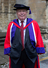 OCT 14 2014 Lord Julian Fellowes receives honorary degree