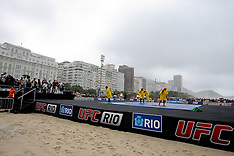 August 24, 2011: UFC 134 in Rio - Fighter Workouts