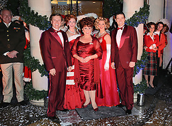 Tom Chambers, Aled Jones, Wendi Peters and the Cast of White Christmas attend a Christmas sing-a-long as Fenwick of Bond Street and White Christmas The Musical collaborate for a debut performance of the seasonal show at Fenwick, Bond Street, New Bond Street, London on Wednesday 29th October 2014