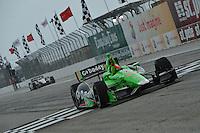 James Hinchcliffe, Honda Grand Prix of St. Petersburg, Streets of St. Petersburg, St. Petersburg, FL USA 03/24/13