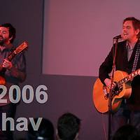 David Poe and Duncan Sheik performing at the Apple Store in Soho NYC, on May 16th, 2006.