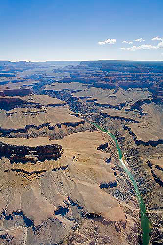 Helicopter tour, Grand Canyon, Arizona, USA