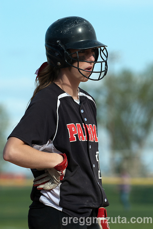 Vale Parma softball game, April 15, 2014 at Parma, Idaho.