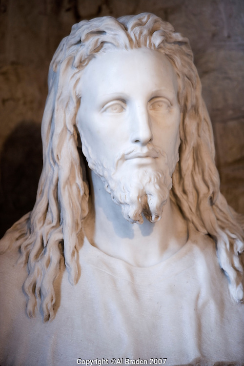 Sculpture of Jesus Christ at Elizabet Ney Museum, Austin, Texas