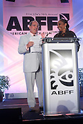 Miami Beach, Florida, NY-June 23: (L-R) Brad Sielgel and Actress DeEtta West attend the 2012 American Black Film Festival Winners Circle Awards Presentation held at the Ritz Carlton Hotel on June 23, 2012 in Miami Beach, Florida (Photo by Terrence Jennings)