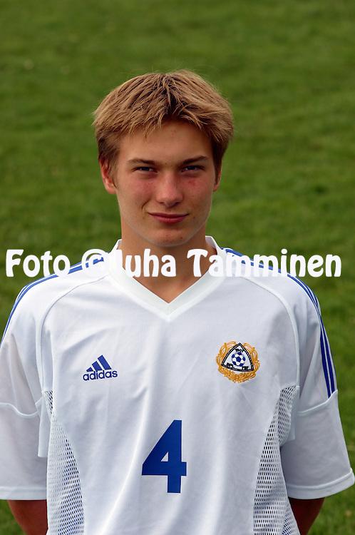 22.01.2003, Santiago de Chile..Kristian Kojola - Finland U-17.©Juha Tamminen
