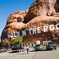 The Hole N' The Rock tourist trap near Moab, Utah