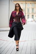 Christine Centenera at Schiaparelli Couture FW2014