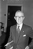 1963 - Retirement presentation at Gilbeys of Ireland Ltd.