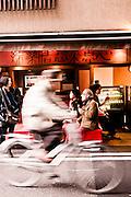 Snacking at Nishiki Market, Kyoto