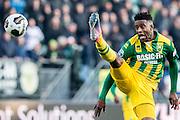 DEN HAAG - ADO Den Haag - Feyenoord , Voetbal , Eredivisie , Seizoen 2016/2017 , Kyocera Stadion , 19-02-2017 , ADO Den Haag speler Guyon Fernandez
