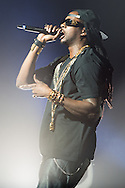 Rapper 2 Chainz performing in support of Nicki Minaj on the Pink Friday Tour 2012 at the Peabody Opera House in St. Louis on July 31, 2012.