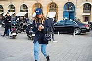 Miroslava Duma at Schiaparelli SS2017