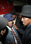 l to r: MOS DEF and K'naan at The IMAN Community Cafe with a performance by MOS DEF held at The Apollo Theater on January 23, 2010 in Harlem, New York City. Photo Credit: T.Jennings/Retna, Ltd...**exclusive**