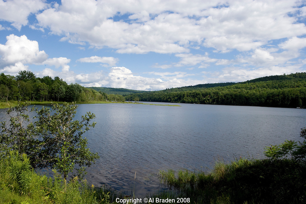 Comeford Reservoir on the Connecticut River, Monroe, NH