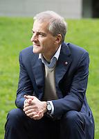 OSLO, 20150903: I forkant av valget stilte Jonas Gahr Støre på intervju.  FOTO: TOM HANSEN