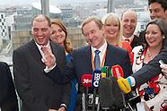 The Fine Gael Ard Fheis  at the Convention Centre Dublin. 31.3.2012